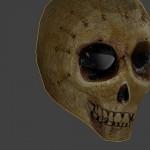 skull helmet - bones