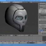 skull helmet - hi-tech